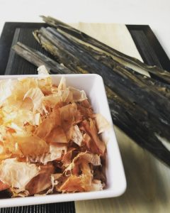Homemade Dashi Hokkaido Kombu Fresh Shaved Bonito Komzo Kitchen Authentic Japanese Home Cooking