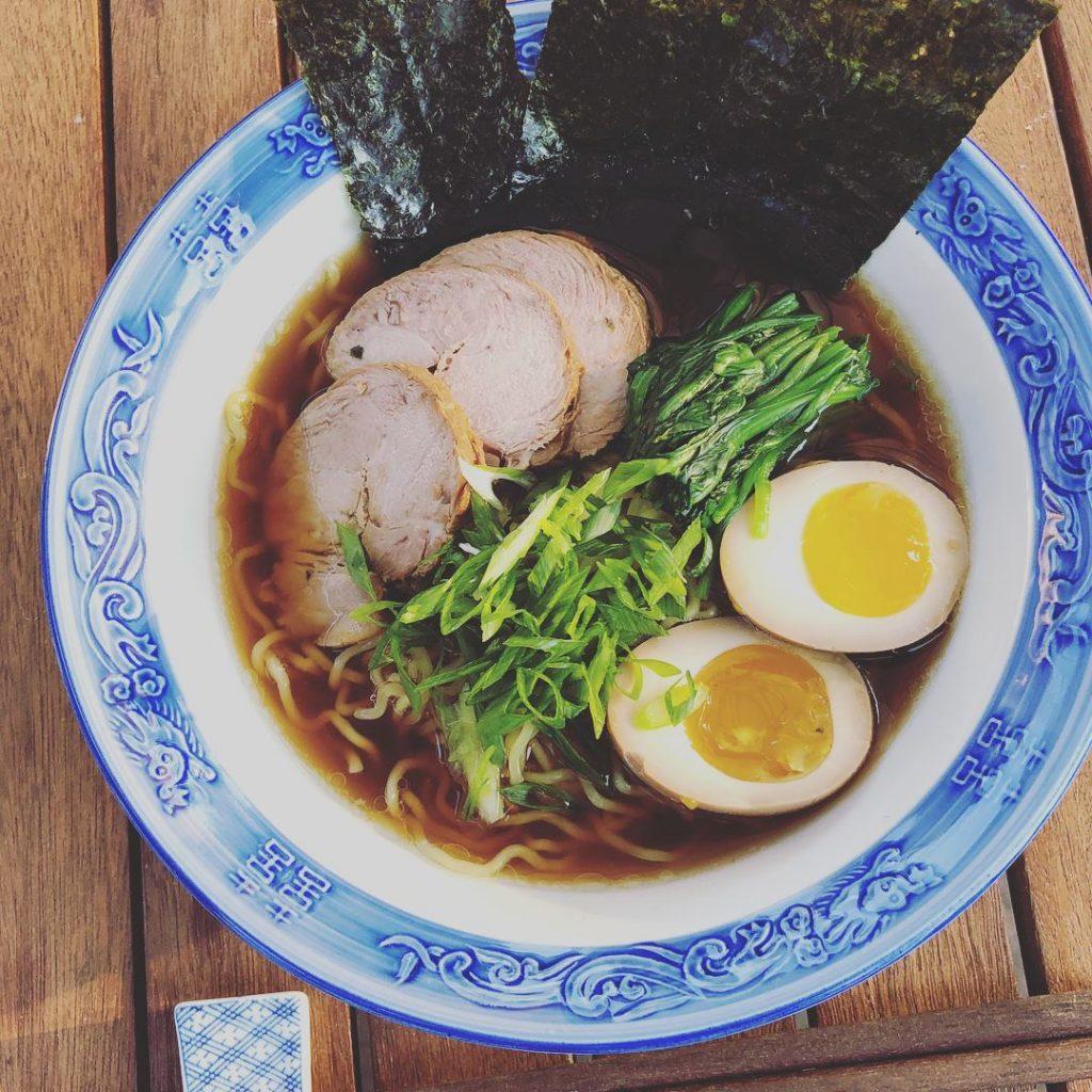 PCC Cooks Authentic Shoyu Ramen At Home Kanako Koizumi Kozmo Kitchen